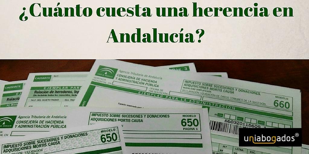 Impuesto de Sucesiones: ¿cuánto se paga por una herencia en Andalucía?