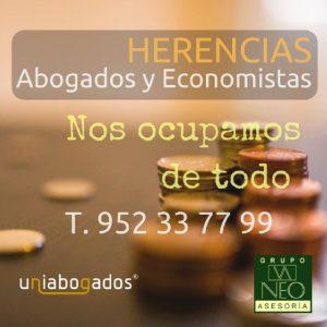 herencia en Andalucía