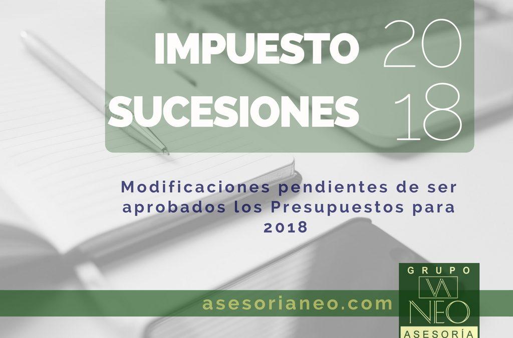 Novedades Impuesto Sucesiones en Andalucía para 2018